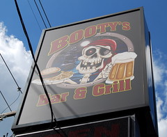 Lunch at Booty's Pirate Bar & Grill