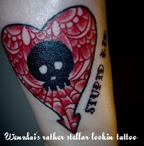 alkaline trio. band tattoo