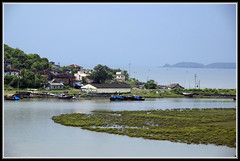 Fishing village outside Murud