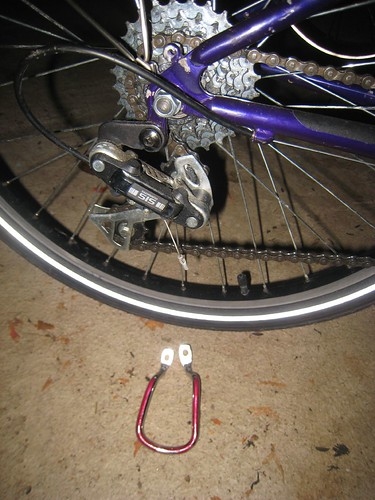 the dreaded derailleur protector