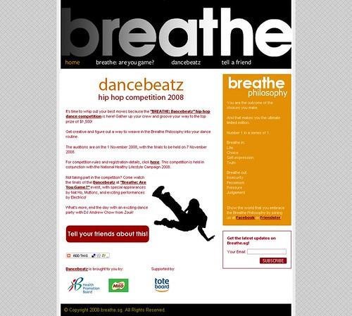Breathe.sg - Home Page