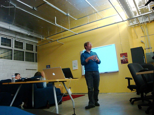 Chris Messina at Open Stack Meetup