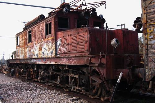 Oxido y grafittis (Casetas)
