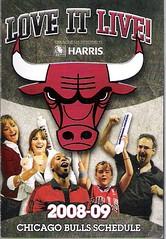 Bulls Pocket Schedule 2008-09
