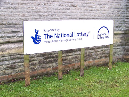 THANKS TO THE NATIONAL LOTTERY FUND by friendsofnewarkcemetery.