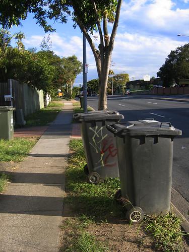 Wheelies a'waiting by Kat Johnston / Sanura Sakai.