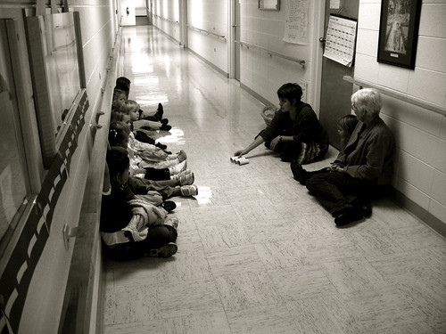 preschool hallway time by you.