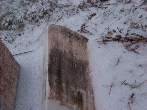 Old William Carman tombstone