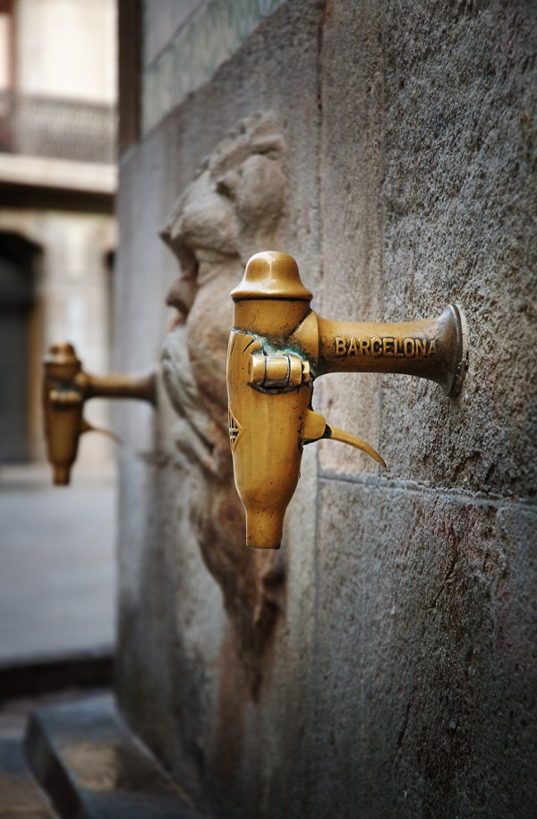 Water Fountain Spout