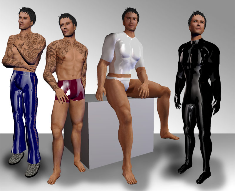poc male latex