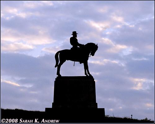 Maj. Gen Oliver Howard Monument at Gettysburg