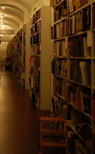 Hallway. Library