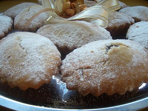 Bucunotti - Pastine di frolla al cioccolato e mandorle