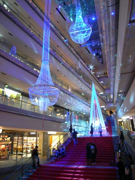表参道ヒルズ 2008年クリスマスツリー 2