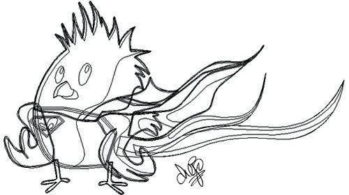 Caricatura en Illustrator CS3 ¿Que opinan?