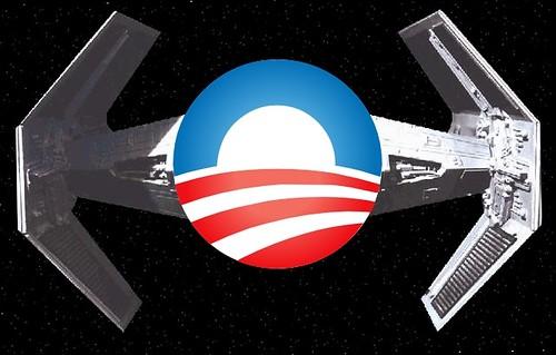 Obama tie fighter