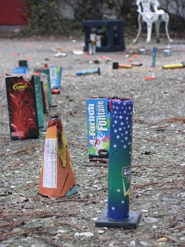 Fireworks - the aftermath
