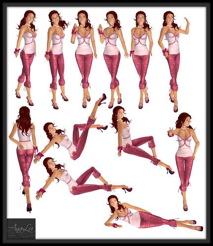 -AnaLu- *fresh poses* (73-84)
