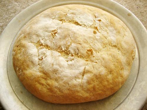 a flat loaf