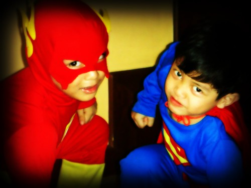 Flash & Superman