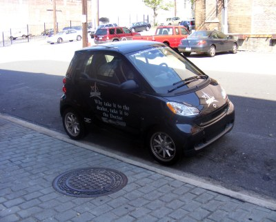 SmartCar invasion begins