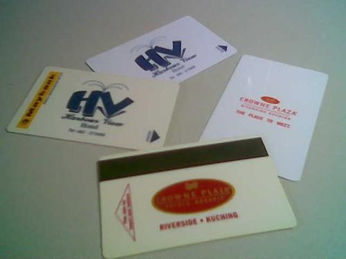 STP's hotel key cards 3
