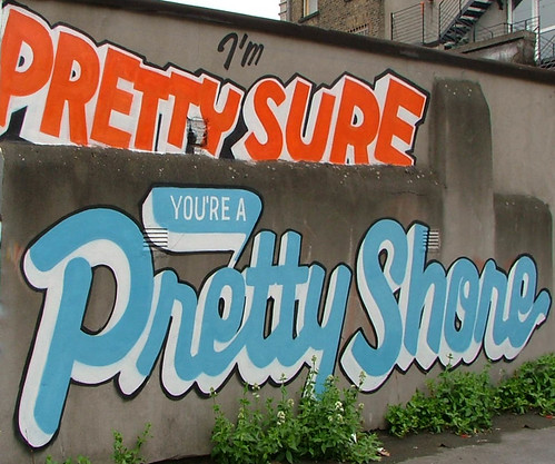 Im Pretty Sure Youre A Pretty Shore - in the grounds of the Tivoli Theatre, Dublin, Ireland