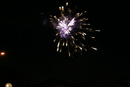 Fireworks on New Years!