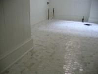 Bathroom tiles and paint. | Door Sixteen