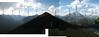 Sulphur Mountain Gondola Panorama with Placenames Centre