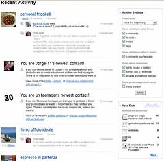 flickr New Recent Activity