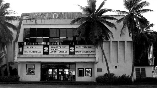 Sheila Movie Theatre Black and White Adj