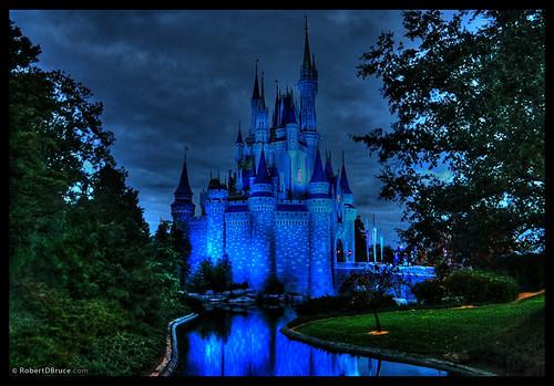 Disney World Magic Kingdom Castle - HDR