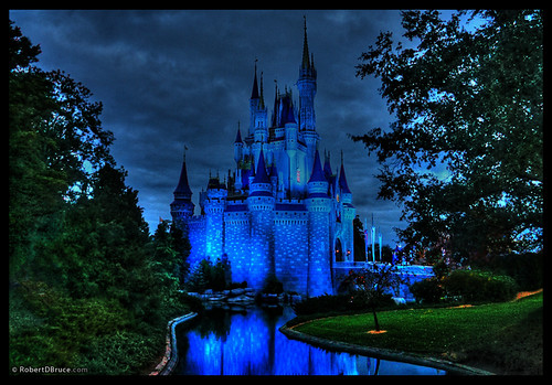 Disney World Magic Kingdom Castle - Robert D Bruce