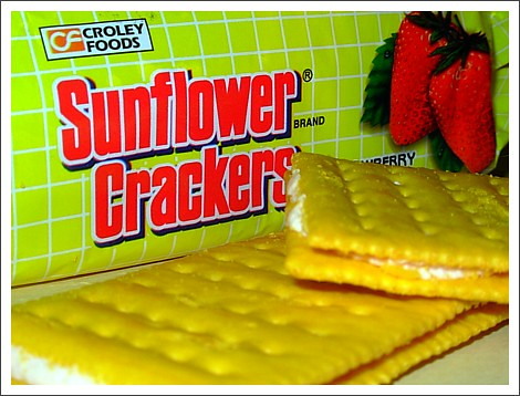 Sunflower Crackers (Strawberry), My Favorite