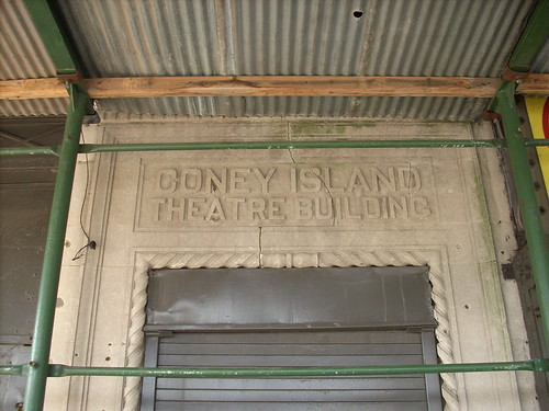 Coney Island Theatre Building.  Photo © katherine of chicago via flickr