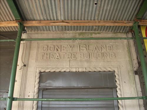Coney Island Theatre Building.  Photo © katherine of chicago via flickr