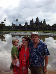 Angkor Wat family shot 2