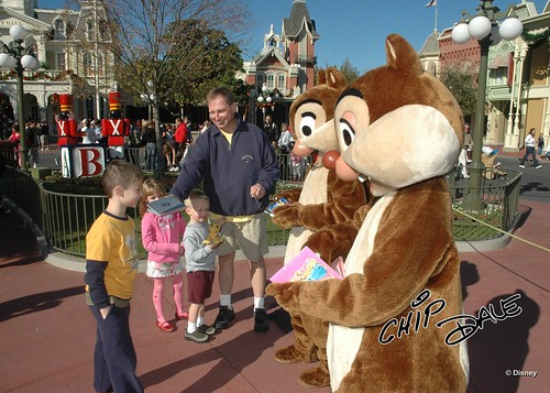 Meeting Chip & Dale