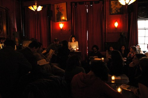 ZEEK bookreading at KGB bar