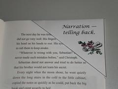 narration corner bookmark
