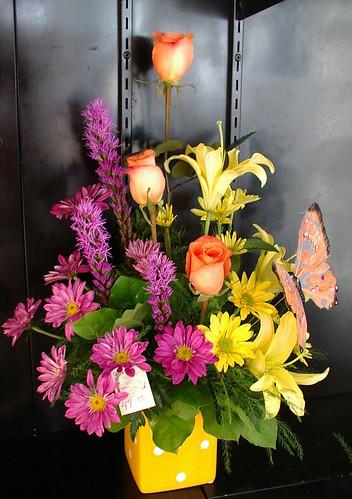 bright summer arrangement