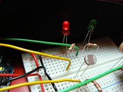 Heating the thermistor
