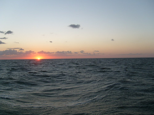 Sunset on the Pamilico Sound
