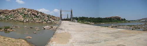 Hampi-Anegundhi (unfinished) Bridge