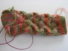 Spring Forward Sock