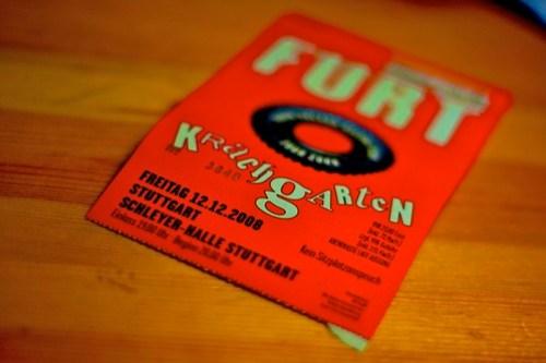 FURT Konzertkarte