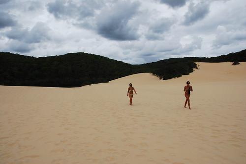Recorriendo las dunas