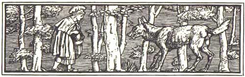 Caperucita Roja según los Hermanos Grimm. (1/6)