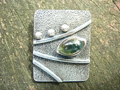 Green Tourmaline Pathways Pendant